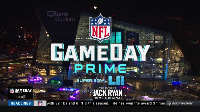 Super Bowl LII GameDay Prime