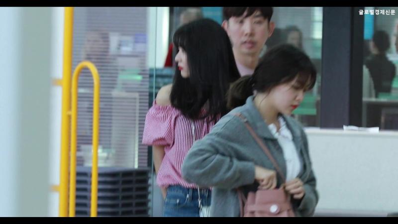 180524 레드벨벳 Red Velvet 슬기 '러비들의 심쿵조련사 아기 곰' 인천공항 출국