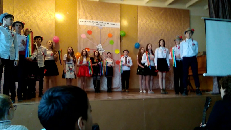 День Дружбы Народов 8Б Молдаване Часть1