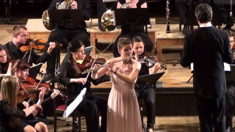 Vilém Blodek: Koncert D dur   Eliška Bošková - flétna   26.6.2014