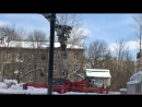 Бетонирование фундаментной плиты подземной автостоянки 3 я отсечка 17 03 2018