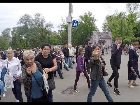 Як поліція у одеських колаборантів портрет з гєоргієвской лєнтой забирала