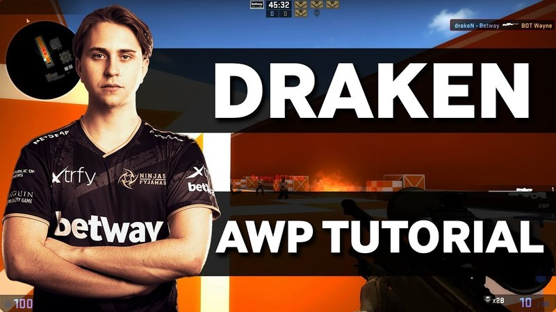 NiP draken | Teaches You How To Improve Your AWP Skills