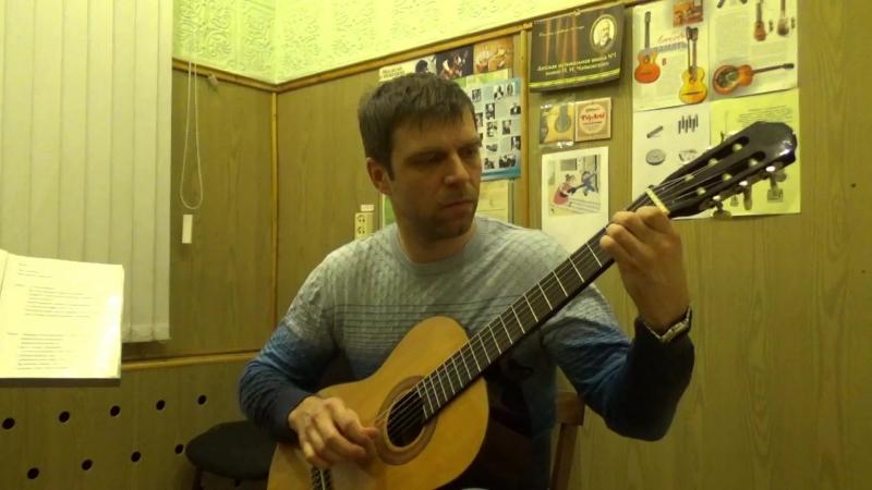 Арпеджио (триоли, секстоли) И.Ходяков