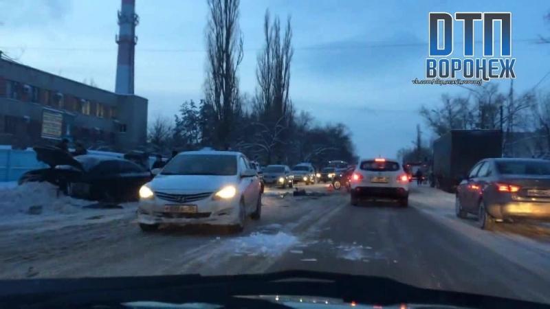 Воронеж.ДТП 22.01.2018г