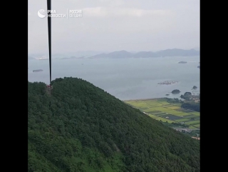 Самая длинная канатная дорога в Азии