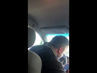 Angry uber driver- get out of my car