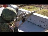 Ведение скоростной стрельбы снайперами #ЮВО в Абхазии