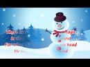 Frosty the Snowman LYRICS (Christmas Song for Kids)