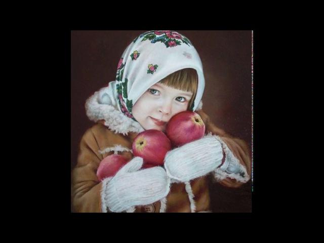 Фламандский метод живописи. Этапы работы над портретом девочки с яблоками.