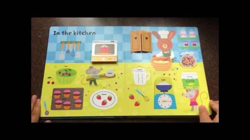 A Look Inside The Usborne Lift the Flap Sizes and Measuring Book