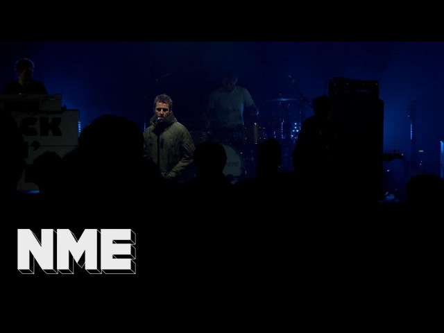 Liam Gallagher plays 'Wall Of Glass' live | VO5 NME Awards 2018