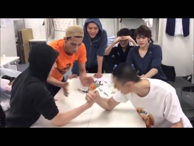Haikyuu!! Stage Play Casts - Arm Wrestling Part 2 » Freewka.com - Смотреть онлайн в хорощем качестве