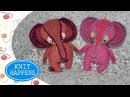 Мастер класс Розовый слон Вяжем крючком Игрушка Амигуруми
