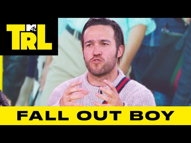Fall Out Boy Returns Reveal How They Met BTS' RM | TRL Weekdays at 4pm
