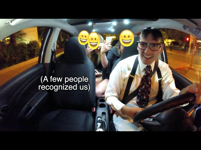 Nerdy uber rapper recognized! Raps for babes!