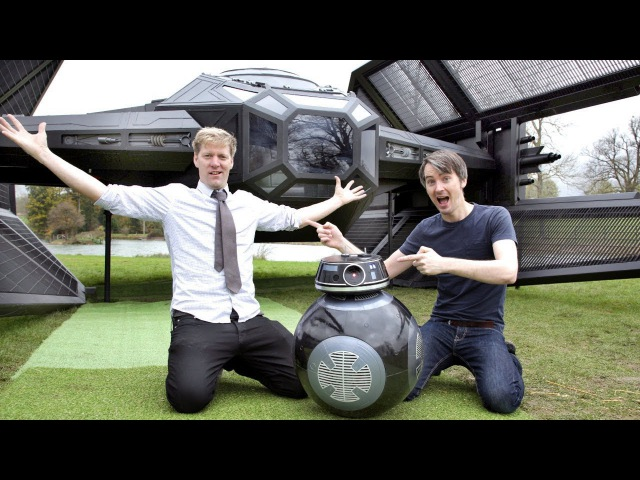 Epic STAR WARS Project with COLIN FURZE for eBay   XRobots