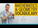 59. MATH GEOMETRY Vocabulary and Terminology in English