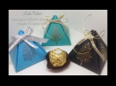 Stampin' Up Totally Trees Small Pyramid Gift Box
