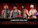 SBW Raw - Dean Ambrose vs Edge vs AJ Styles vs Malcolm The Jester