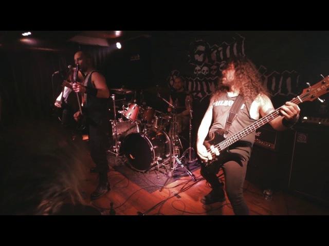 DEAD CONGREGATION Live at Kadıköy 02 12 2017 kargART MEZAR ORGANIZATION