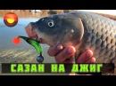 Сазан на джиг Каспийское море Ловля сома и судака Рыбалка с егерем 3 Джиг тетралогия