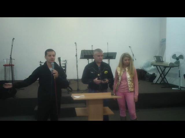 Дебора Вайнер в церкви Дом Божий(Харьков) 301016 (Продолжение)