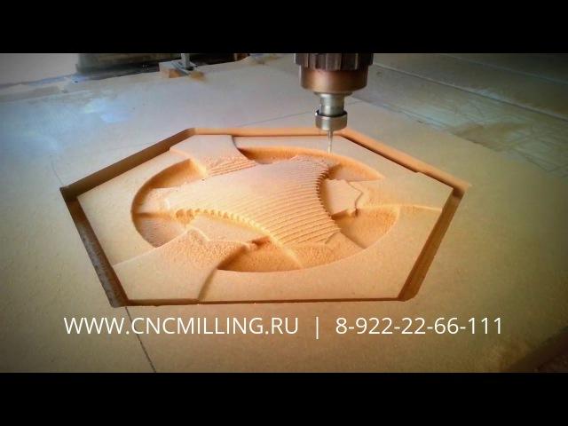 3D фрезеровка МДФ