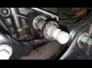 Замена сальника штока кпп Honda CB1