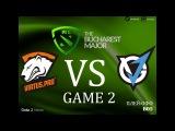 Virtus Pro vs VGJ.Thunder #2 bo5 The Bucharest Major, 11.03.2018