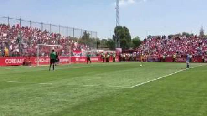 Así fue la tanda de penaltis que llevó al Sevilla Atlético a la Segunda división