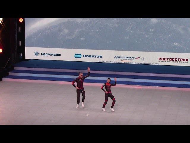 KONDRASHIN Alexey KOZLOVA Darina Final acro