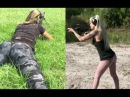 Best girls Shooting Compiletion Gun Skills weapons Shots