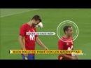 Los aplausos del Bernabéu a Gerard Piqué y la feliz respuesta del defensa a los aficionados