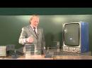 Куб и призма на пути трехсантиметровой волны