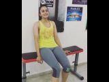 "MFT Harrison James on Instagram: ""#StudTraining #Celebrity #Actor #Star #Tollywood ... @rakulpreet #RakulPreet #Beautiful #Strong #FitnessAddict #F..."