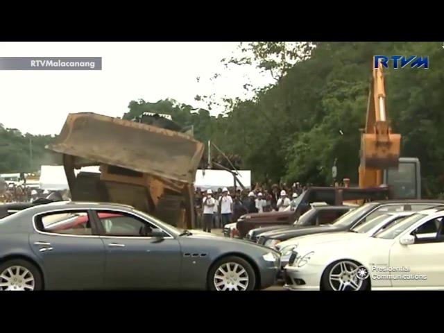 Борьба с контрабандой автомобилей премиум класса на Филлипинах