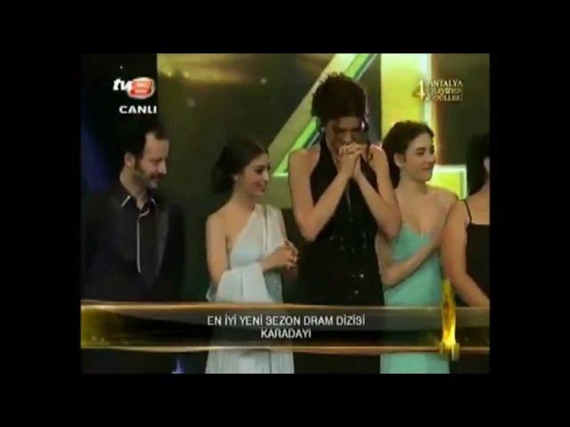 Kenan Imirzalioglu ~ KARADAYI - 4. Antalya TV Awards (27/4/2013)