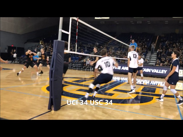 42-40 2nd Set: USC at UCI
