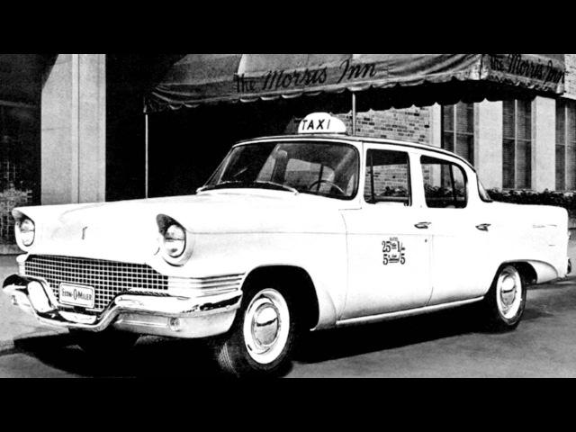Studebaker Champion Scotsman Econ O Miler Taxi 58G Y1 '1958