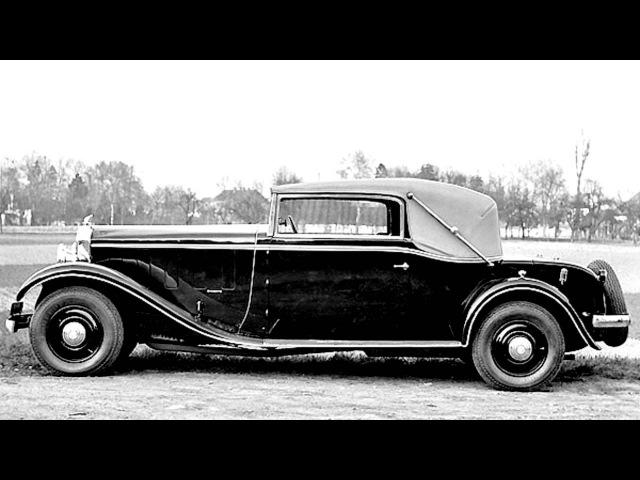 Mathis Emy 8 FOH Long 20 CV Cabriolet '1931–34