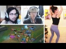 LEVI IS CLEAN SLICK PLAY BY THRESH ON IMAQTPIE STREAM MADLIFE LoL Best Stream Moments 40