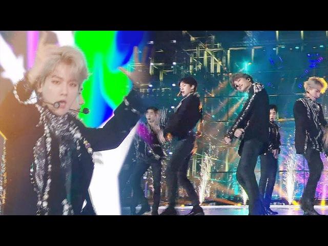 EXO, 무대를 지배하는 환상적인 카리스마 'KO KO BOP' @2017 SBS 가요대전 2부 20171225