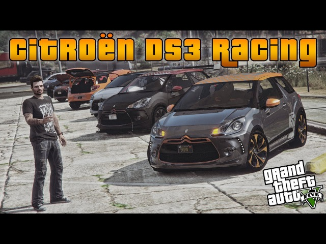 Gta 5: Citroen DS3 Racing (Showcase) [RELEASE]