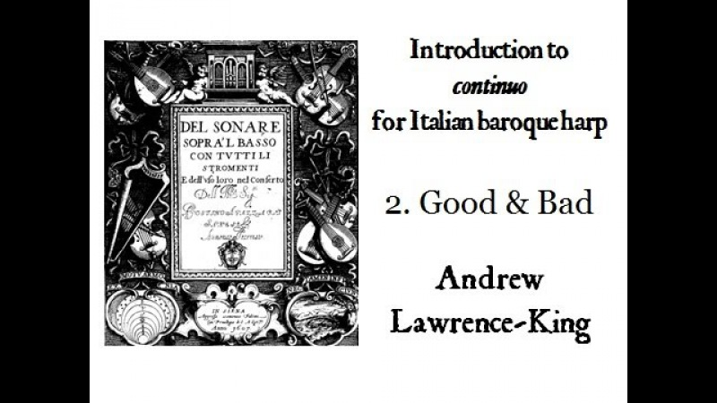 Introduction to continuo 2 good and bad