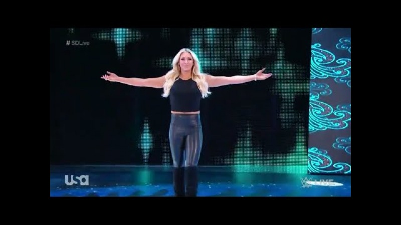 Charlotte Flair Return Entrance SmackDown Live Sept 19 2017 HD