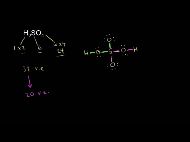 Formal charge and dot structures | Chemical bonds | Chemistry | Khan Academy