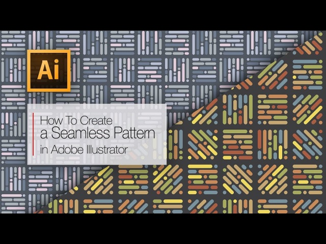 How to create a seamless pattern in Adobe Illustrator | Best tutorial for beginners