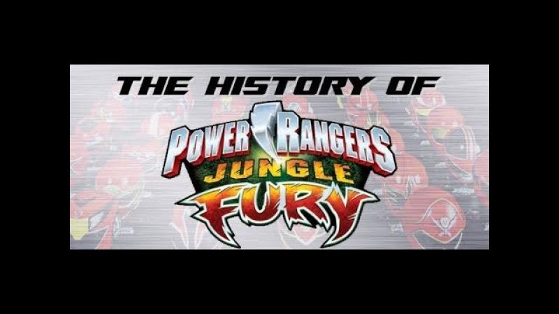 Power Rangers Jungle Fury Part 2 History of Power Rangers