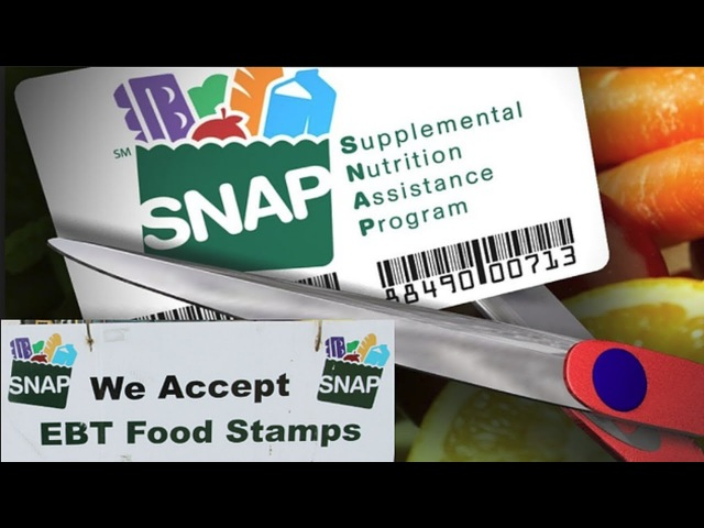 SNAP EBT Food Stamps Potentially CUT REPLACED By Food Delivery